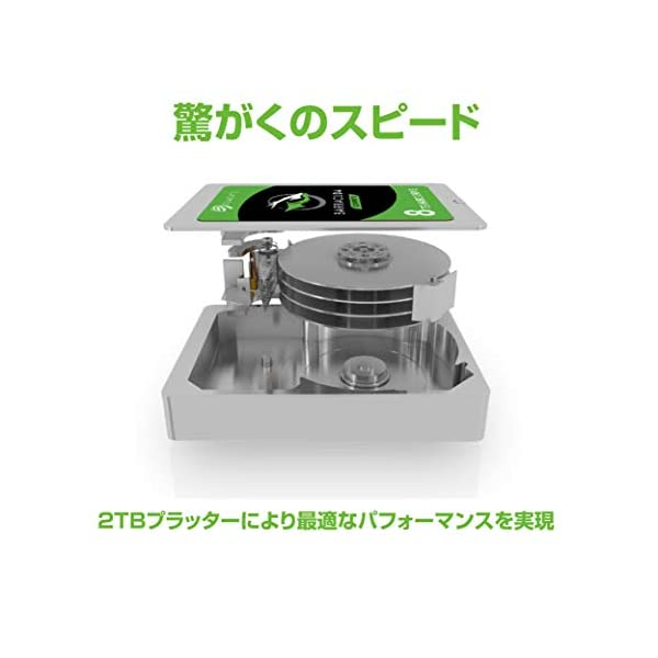 Seagate BarraCuda 3TB【 ...の紹介画像5