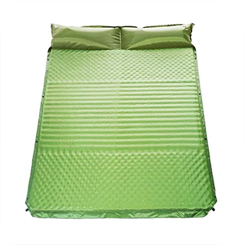 LGFV-キャンプ用マット枕付きインフレータブルスリーピングパッドバックパックハイキングテント用の超軽量でコンパクトなキャンプ用マットレス