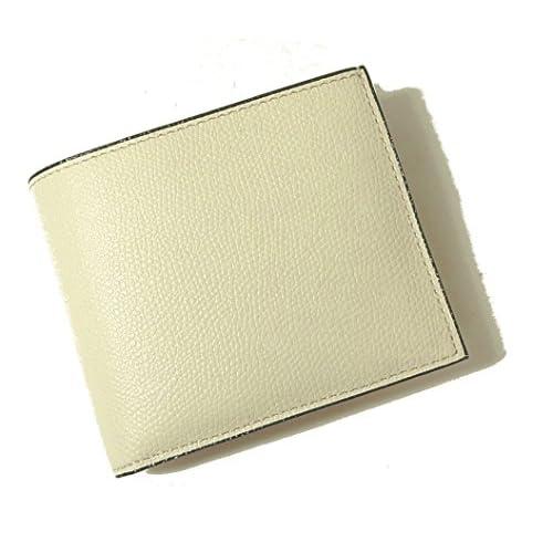 (ヴァレクストラ)Valextra 財布 メンズ 二つ折 (ホワイト) V8L23-028-000W VX-70 [並行輸入品]
