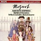 Mozart;Rarities&Surprises