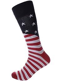 メンズ 大きいサイズ ソックス 靴下 カジュアル-星条旗
