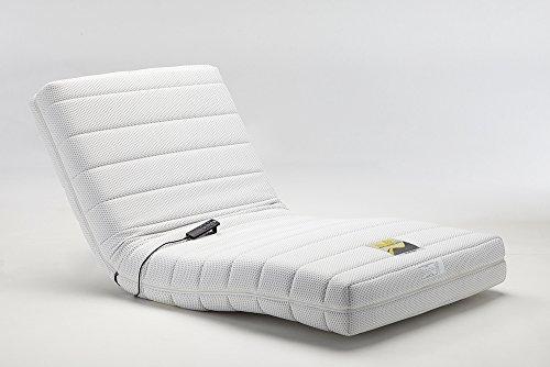 フランスベッド 電動リクライニングマットレス ルーパームーブ ホワイト色 シングルサイズ RP-1000N