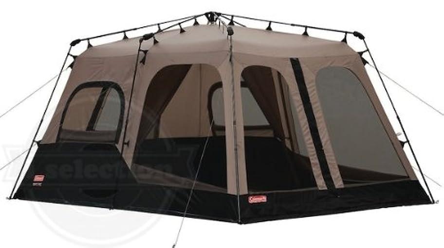 眠りファームエンジン【コールマン インスタント 8人用 2ルームドームテント Coleman Instant 14- by 10- Foot 8- Person Two Room Tent】【並行輸入品】