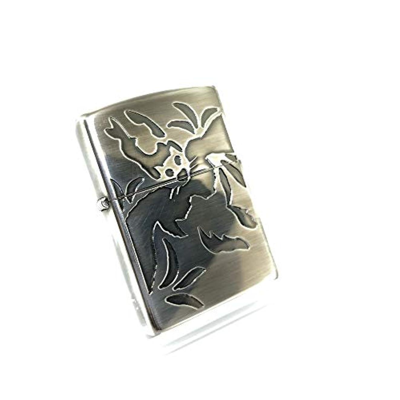 季節卵静的zippo (ジッポー) GOLDEN BAT ゴールデンバット 古美仕上げ 2000年製