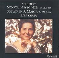 Piano Sonatas D. 845 & 664