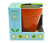 Gift Republic Plant Pot Mug, Multicolor [並行輸入品]