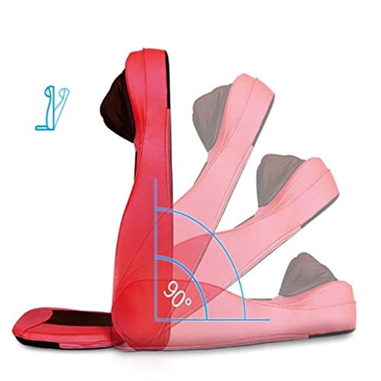 ラビリンス変動する椅子指圧/ローリング/振動/加熱マッサージ、スージング疲労やリラクゼーション圧力、車/オフィスや家庭のための調節可能な枕の高さを備えた電気自動車マッサージシート