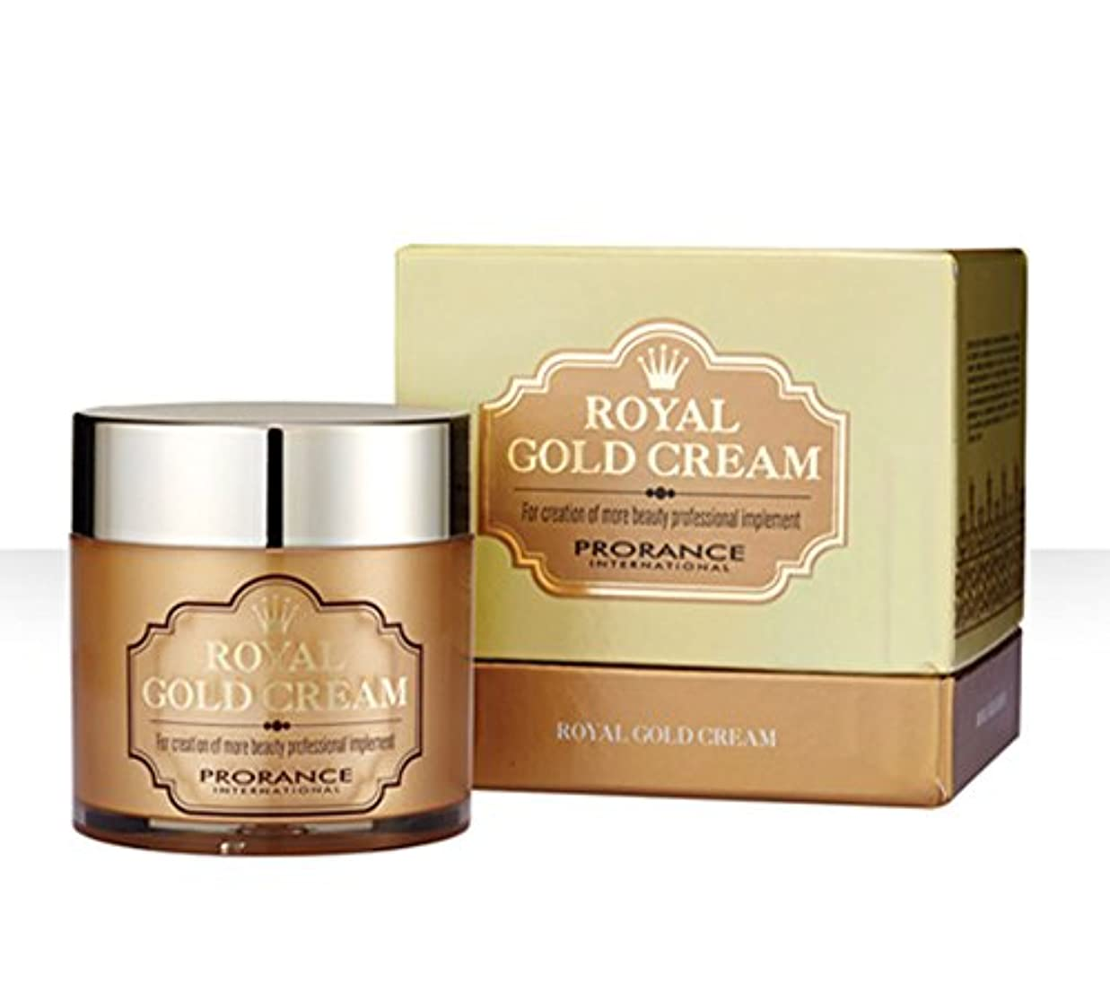 [PRORANCE] ロイヤルゴールドクリーム70ml /保湿?美白/純金(純度99.9%)/韓国化粧品/ Royal Gold Cream 70ml/moisturizing,whitening/pure gold(99.9%...