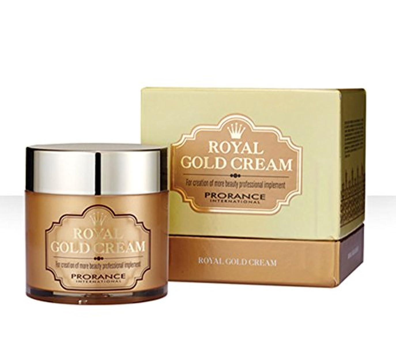家庭太陽群れ[PRORANCE] ロイヤルゴールドクリーム70ml /保湿・美白/純金(純度99.9%)/韓国化粧品/ Royal Gold Cream 70ml/moisturizing,whitening/pure gold(99.9% purity)/Korean Cosmetics [並行輸入品]