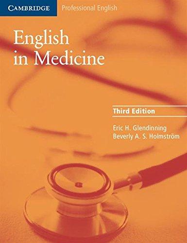 Download English in Medicine: A Course in Communication Skills (Cambridge Professional English) 0521606667