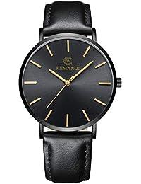 [Beaton_Japan] 腕時計 メンズ 薄型 軽量 シンプル アナログ
