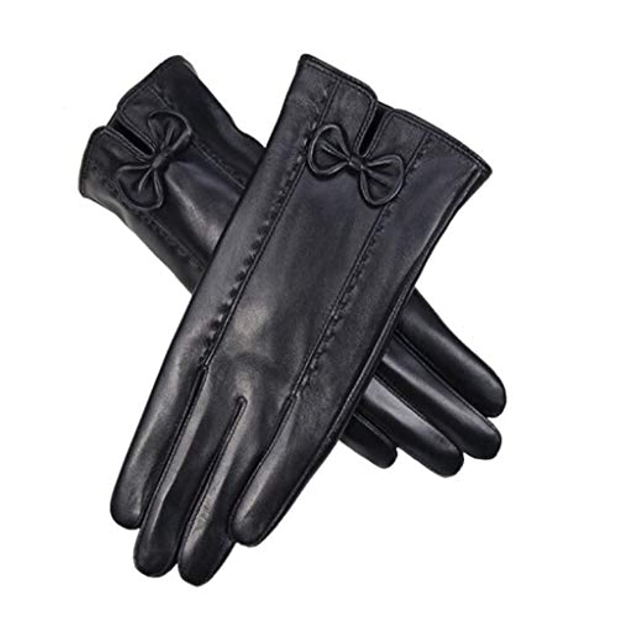 肥沃な忍耐床女性の綿手袋冬プラス車の屋外サイクリング冷たい女性のタッチスクリーン手袋の厚い暖かい韓国語バージョン