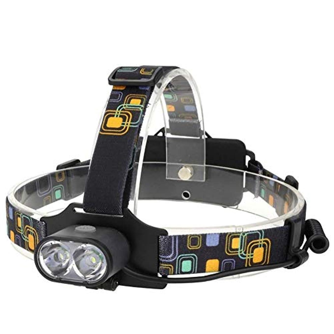 トラクターインク事実ZAIHW USB充電式LEDヘッドトーチ - 超高輝度、防水、軽量&快適 - ヘッドランプランニング、ウォーキング、キャンプ、読書、ハイキング、キッズ、DIYなどに最適、USBケーブル付き