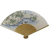 紳士用京扇子 花見船(日本製)
