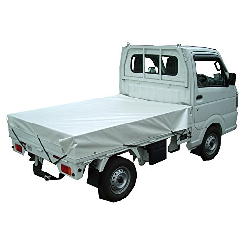 フナイ産業 遮熱ホワイトパールトラックシート#3 約2.3×3.5m 1~2tトラック用