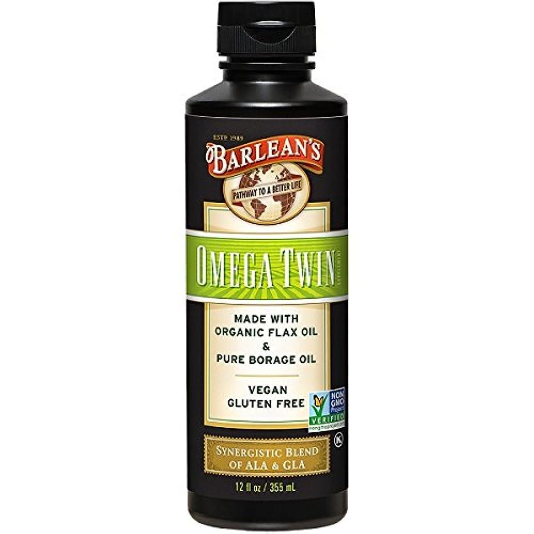 リーフレット取り扱いとらえどころのないBarlean's, Omega Twin, Complete 3-6-9 Nutrition, 12 fl oz (350 ml)