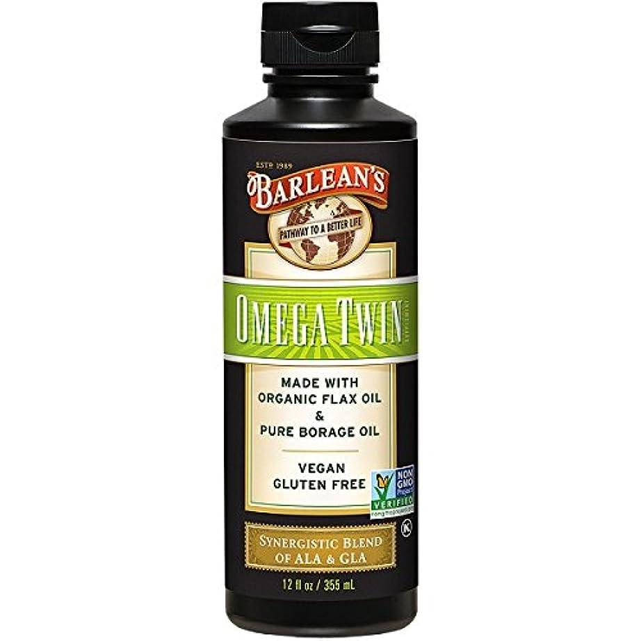 過激派病院害虫Barlean's, Omega Twin, Complete 3-6-9 Nutrition, 12 fl oz (350 ml)