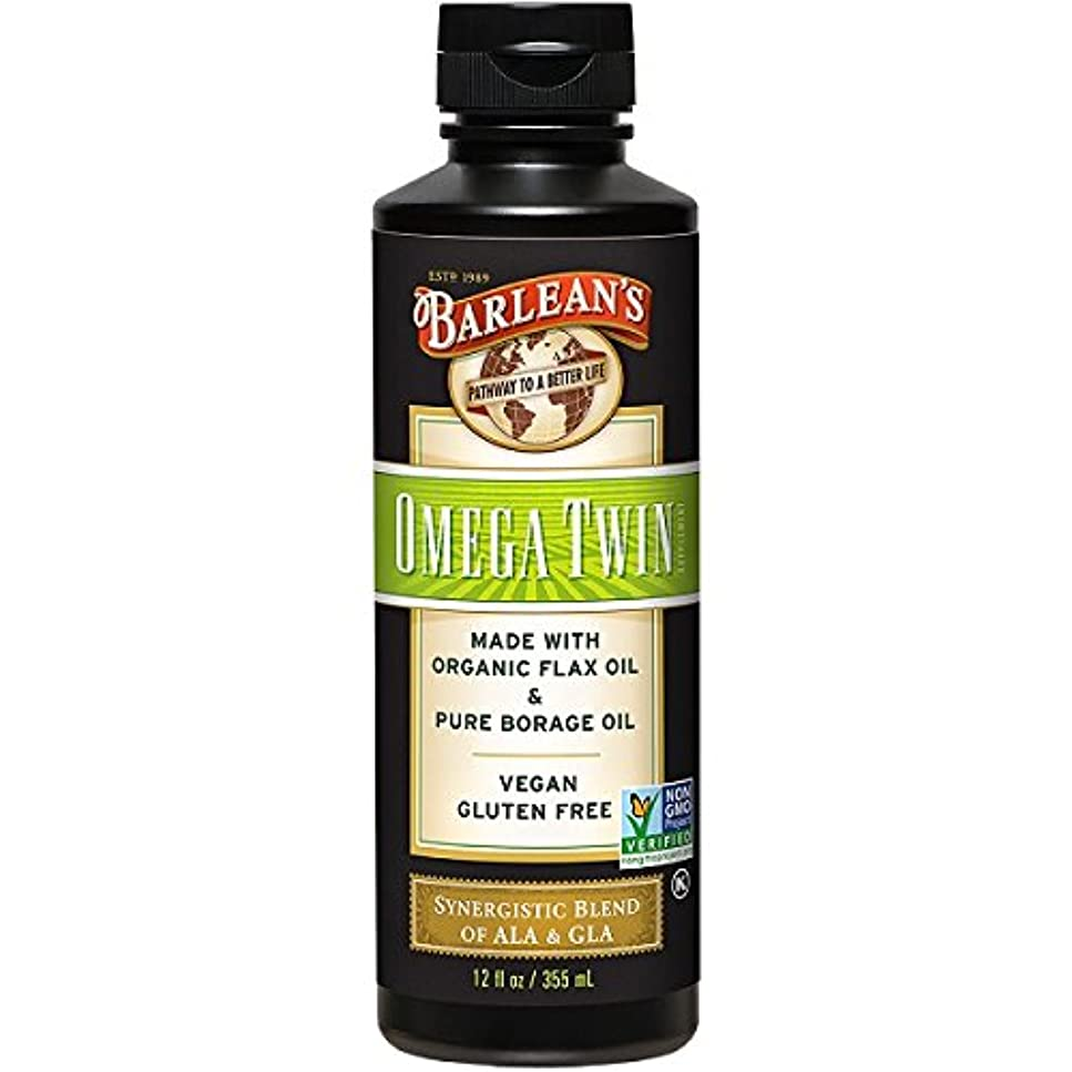 炭水化物兵士フリッパーBarlean's, Omega Twin, Complete 3-6-9 Nutrition, 12 fl oz (350 ml)