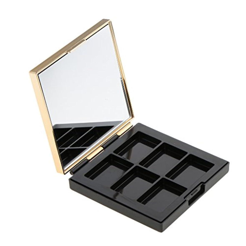 本動的劣るBaosity 空パレット 収納ボックス 高品質 ABS製 DIY コスメ収納 メイクアップケース ミラー付き