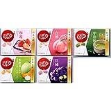 【日本土産】5種類 キットカット 和苺 宇治抹茶 白桃 巨峰 メロン 計5種類 ミニ 3個入「5箱」kitkat