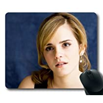 Emma Watson Pop Actress & Model Mouse Pad/Mouse Mat Rectangle by ieasycenter by Rectangle Mousepad [並行輸入品]