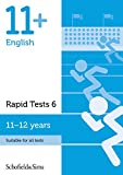 11+ English Rapid Tests Book 6: Year 6-7, Ages 11-12