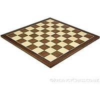 17.75 Inch Walnut And Maple Chess Board