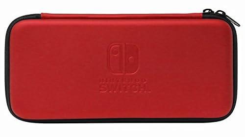 スリムハードポーチ for Nintendo Switch レッド(Amazon)
