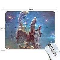 Jiemeil マウスパッド 高級感 おしゃれ 滑り止め PC かっこいい かわいい プレゼント ラップトップ MacBook pro/DELL/HP/SAMSUNG などに モンスター 星空 宇宙