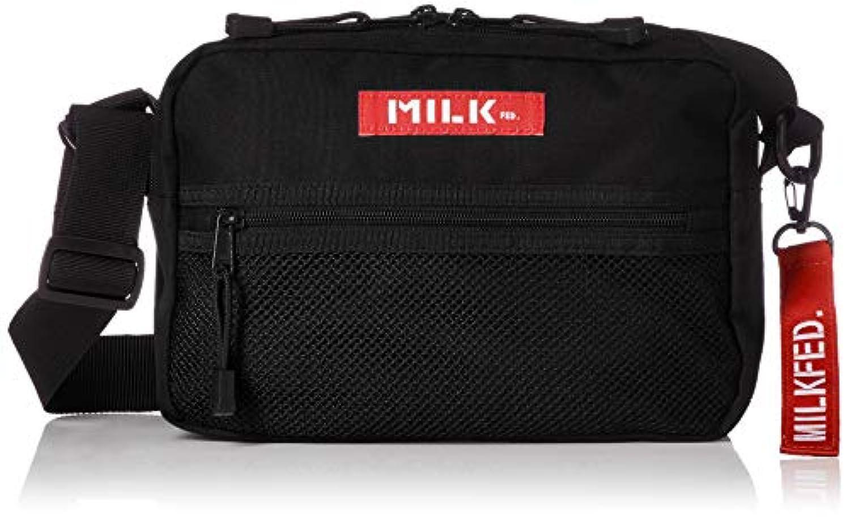[ミルクフェド]SHOULDER WIDE BAG MESH POCKET 03182087