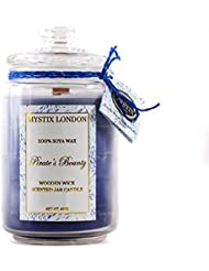 Mystix London | Pirate's Bounty Wooden Wick Scented Jar Candle 440g
