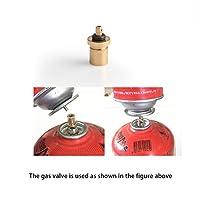 ACHICOO 屋外の軽油箱の結め換え品のアダプターのキャンプ用ストーブのガス箱シリンダー転換のアダプター