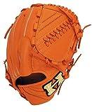 Hi-GOLD(ハイゴールド) M号球対応 軟式用グラブ 己極(おのれきわめ)シリーズ 投手用 OKG-811SP オレンジ LH(右投用) サイズ:D-4