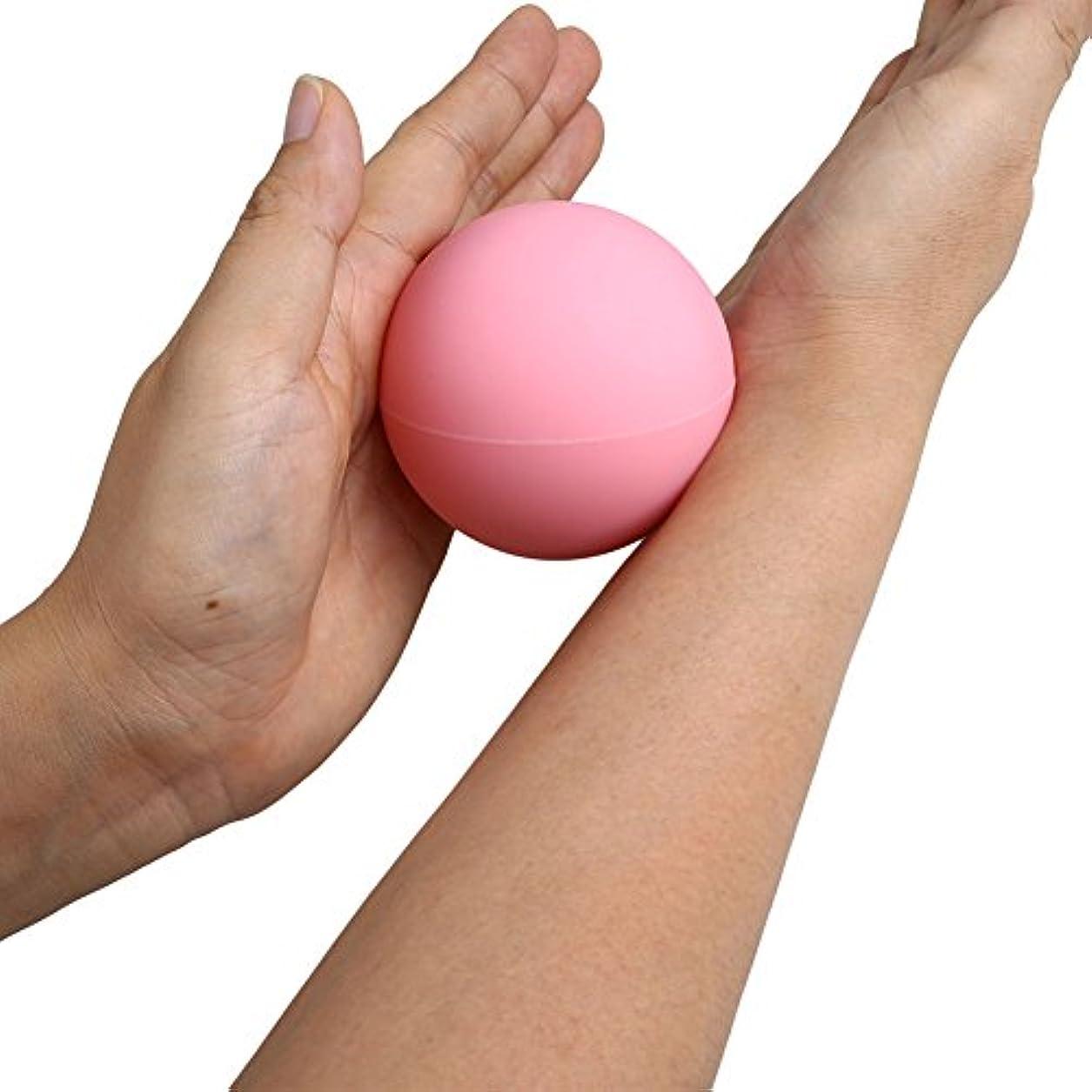 見るナイロン叙情的なAuntwhale ラクロスマッサージボール 毎日のためにジムヨガ 筋筋膜トリガーポイント リリース