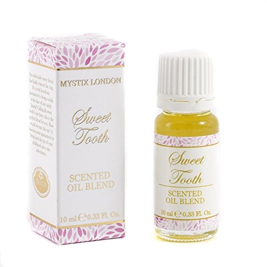 食物埋める薬用Mystic Moments | Sweet Tooth - Scented Oil Blend - 10ml