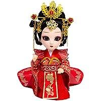 強力な呉Zetian工芸中国北京オペラ人形の装飾
