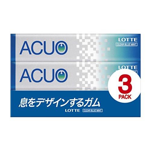 アクオ クリアブルーミント 14粒X3本