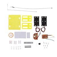 Toygogo DIY電信受信機モデル玩具物理科学電気回路実験キット教育