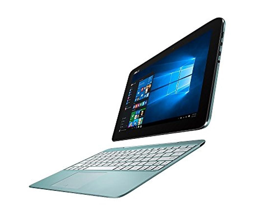 発揮する衝突コース蜜ASUS 2in1 タブレット ノートパソコン TransBook T100HA-BLUE Windows10/Microsoft Office Mobile/10.1インチ/アクアブルー