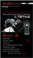 SMDV rfn-4(rf-908) ワイヤレス&ケーブルシャッターリリースfor Nikon DSLR Nikon Df, d610, d600, d7100、d7000、d5300、d5200、d5100、d5000、d3100、d3200、d90、Coolpix A、p7800, p7700(Nikon MC - dc2、wr-r10