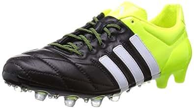 [アディダス] adidas サッカーシューズ エース 15.1-ジャパン HG LE B32815 B32815 (コアブラック/ランニングホワイト/ソーラーイエロー/25.0)