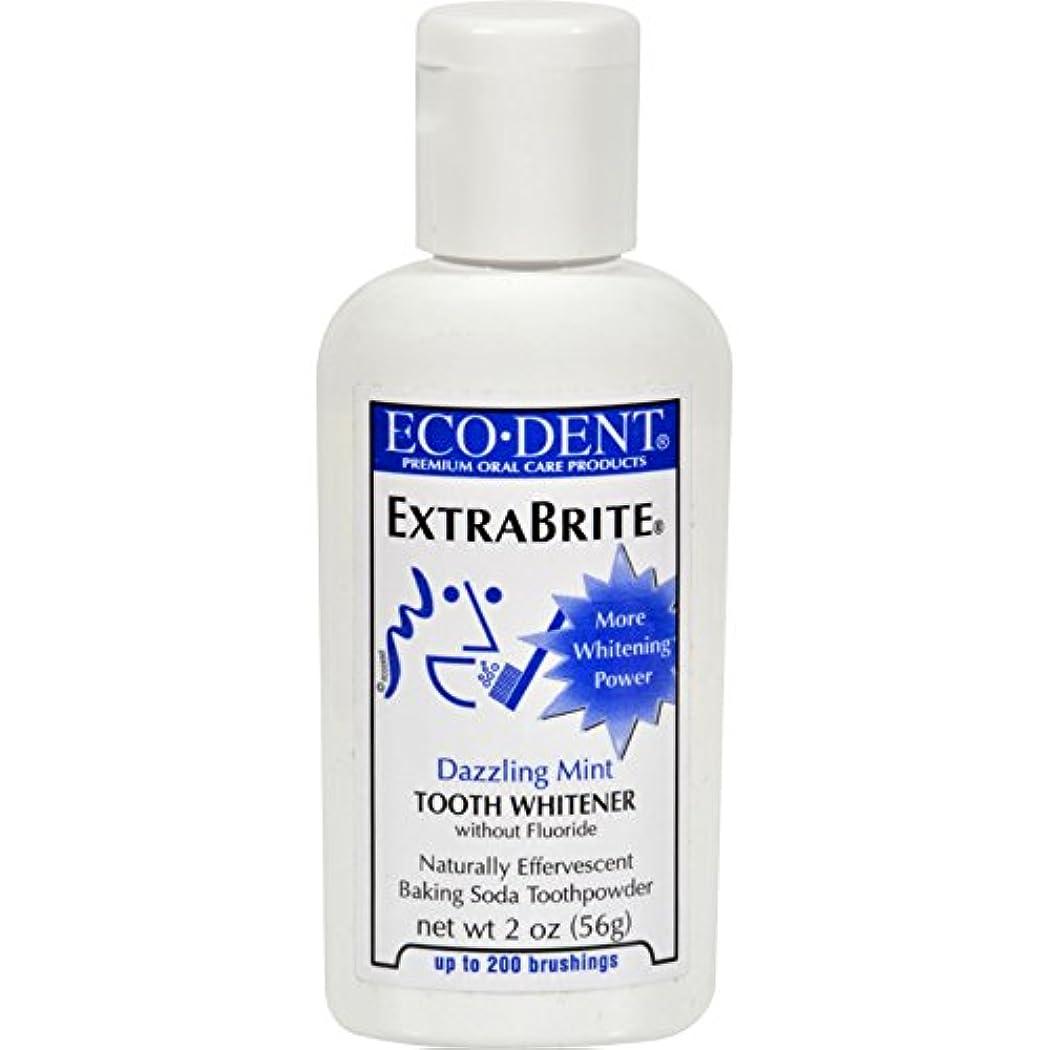 しおれた好きアマチュアECO-DENT エコデント歯磨き粉Xbrite