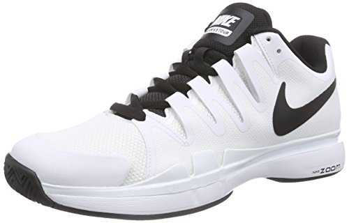 ナイキ(NIKE) テニスシューズ ズーム ヴェイパー 9.5 ツアー 631458-101 ホワイト 27.5cm