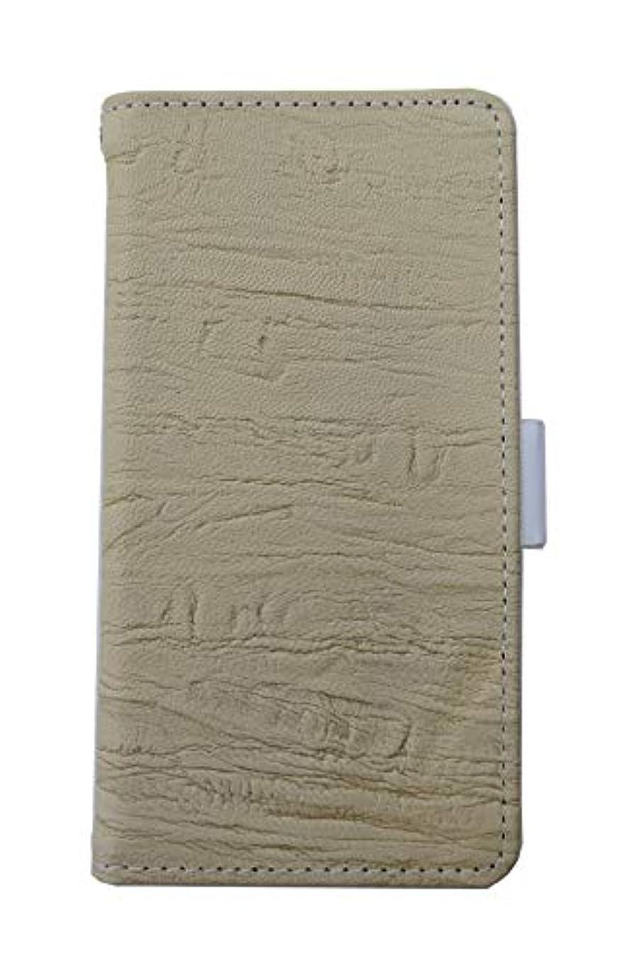 ルアー未使用我慢する楽々ショップ OPPO R11s SIMフリー 手帳型ケース 本革 レザー やわらかい羊革使用 手帳 ケース カバー 横開き 本革ストラップ付き カード収納 保護フィルム付き R11s-ZPCF-W396 ベージュ