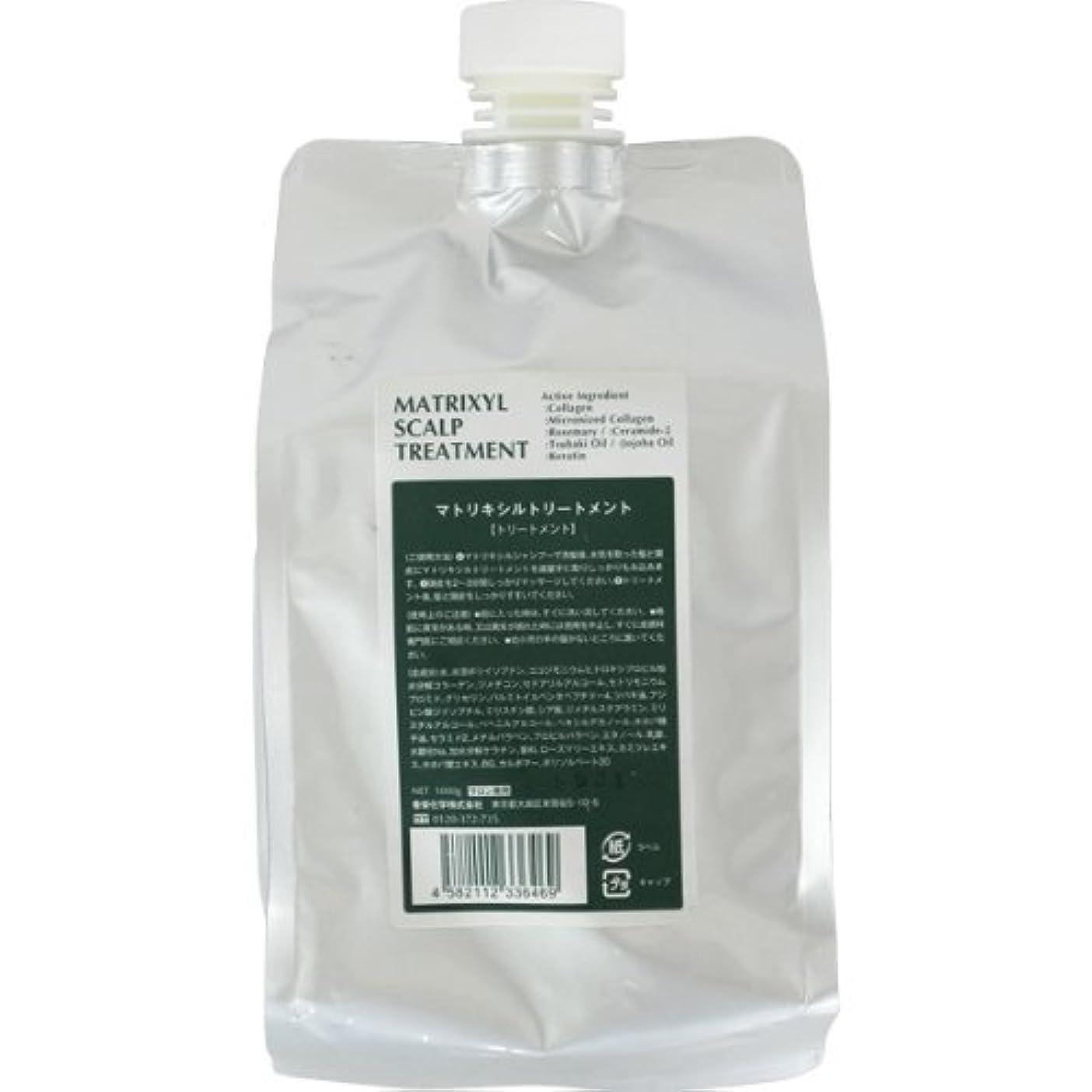 スクレーパーリスキーな引く香栄化学 マトリキシル スキャルプトリートメント レフィル 1000g