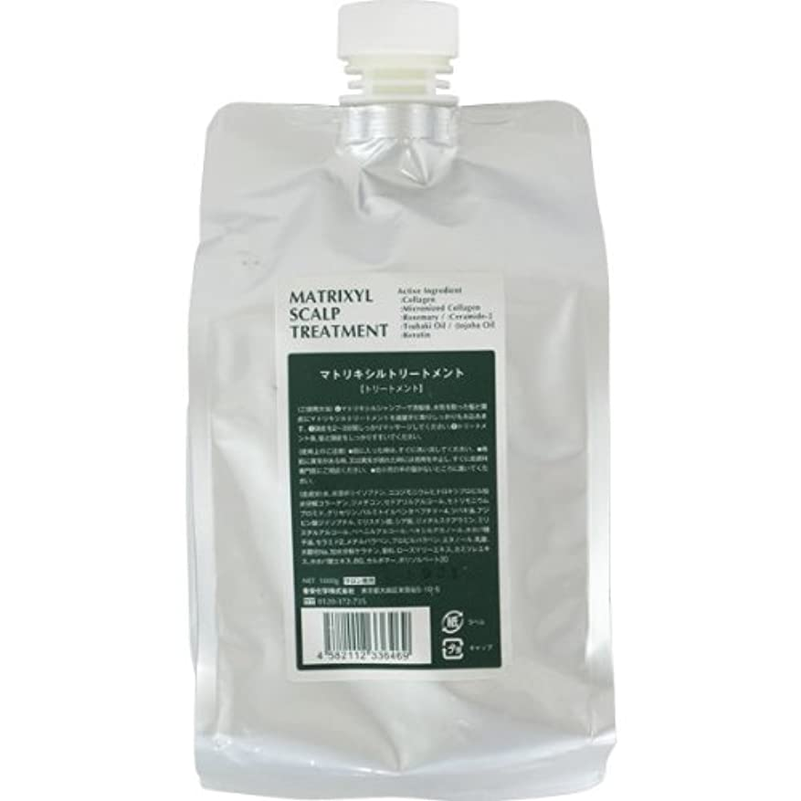 驚くべき枯渇七時半香栄化学 マトリキシル スキャルプトリートメント レフィル 1000g