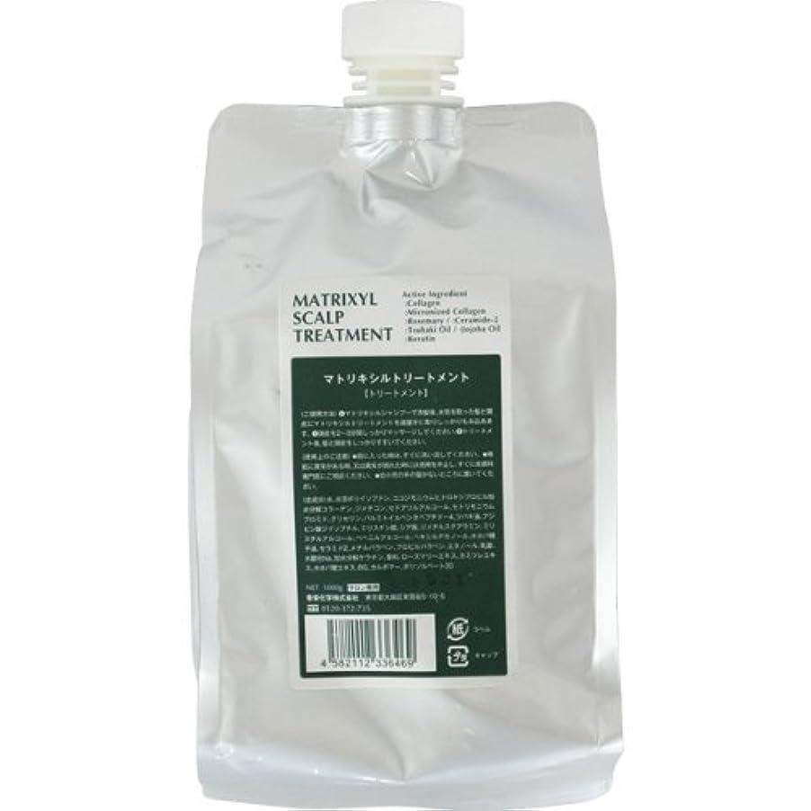 非公式器用モス香栄化学 マトリキシル スキャルプトリートメント レフィル 1000g