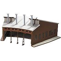 アドバンス Nゲージ 1008 木造扇形機関庫 (ペーパーストラクチャー キット)