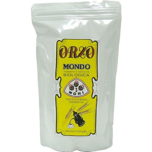 イタリアン大麦飲料 オルゾ(ORZO)・モンド・BIO 500g お徳用パッケージ