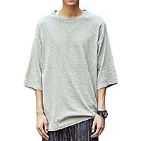 [シュバリアン] Tシャツ ビッグ シルエット ゆったり シンプル 無地 メンズ